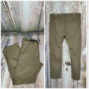 Prana Zion Stretch Cargo Pants 38x32